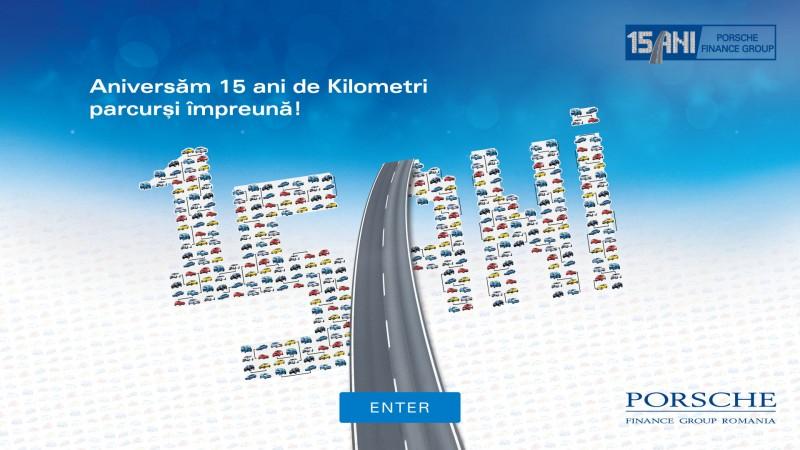 """""""Aniversam 15 ani de kilometri parcursi impreuna!"""" – O campanie semnata de ICON Advertising pentru Porsche Finance Group Romania"""