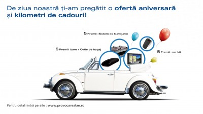 Porsche Finance Group - Oferta aniversara