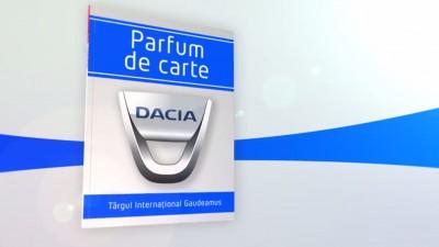 """Parfum de carte"" cu Dacia la Gaudeamus, in regia Publicis Romania"