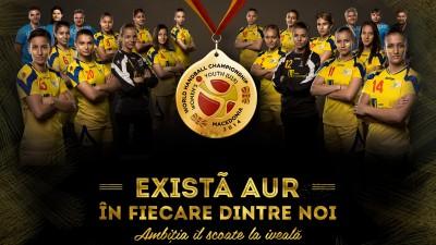 Federatia Romana de Handbal - Exista aur in fiecare dintre noi (poster)
