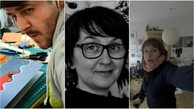 Trei si-un Balamuc: Razvan Cornici, Livia Coloji si Ana Kun