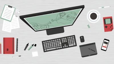 High Contrast - Claim your designer desk!