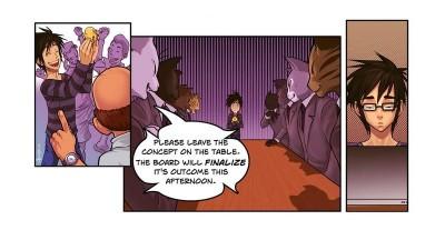 Comic strips cu schepsis: se ia marcom-ul si se intoarce pe toate partile