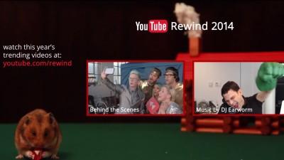 [YouTube Romania Ads Leaderboard] - Top 5 reclame video preferate de romani in luna decembrie 2014. Retrospectivele anului trecut realizate de YouTube si Google ocupa primele locuri