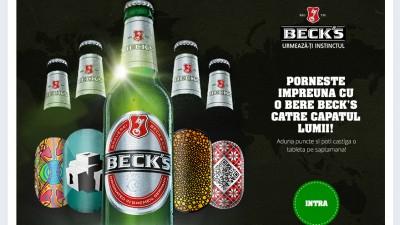 Cu Beck's poti ajunge pana la capatul lumii - aplicatie Facebook
