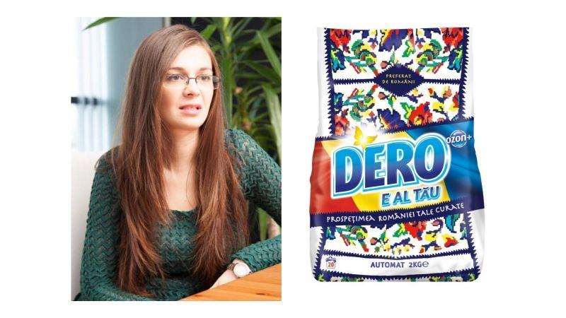 """Iulia Floricica (Unilever), despre campania """"DERO e al tau"""" – totul a pornit de la dorinta noastra ca romanii sa aiba un cuvant de spus in felul in care evolueaza acest brand"""