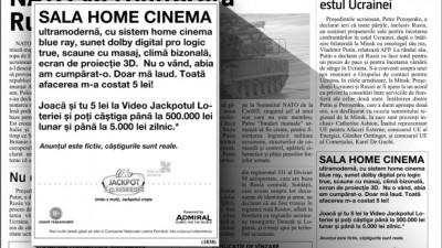 Anunturi mica publicitate - sala home cinema