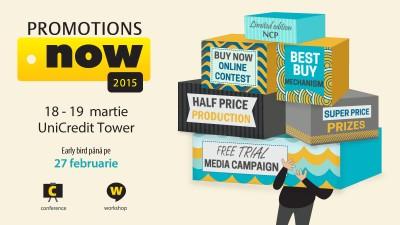 Solutii de eficientizare a promotiilor si concursurilor la Promotions Now 2015