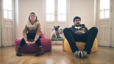 Tiberiu Coman si Roxana Cozaru (Friends/TBWA): Suntem oficial impreuna de vreo 342 de zile, 16 ore si 52 minute. Sau ceva de genul, n-am fost foarte atenti la asta
