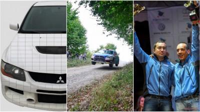 """O masina """"patratita"""" multi-branduita va zburda pe traseele Campionatului National de Raliuri 2015"""