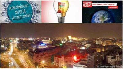 Aici IQads Romania. A fost #OraPamantului. Urmeaza o tipologie a brandurilor