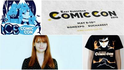 Andreea Mitica, despre East European Comic Con: Pentru ca evenimentul a capatat amploare, depasind 22.000 de vizitatori anul trecut, nu mai poate fi considerat de nisa