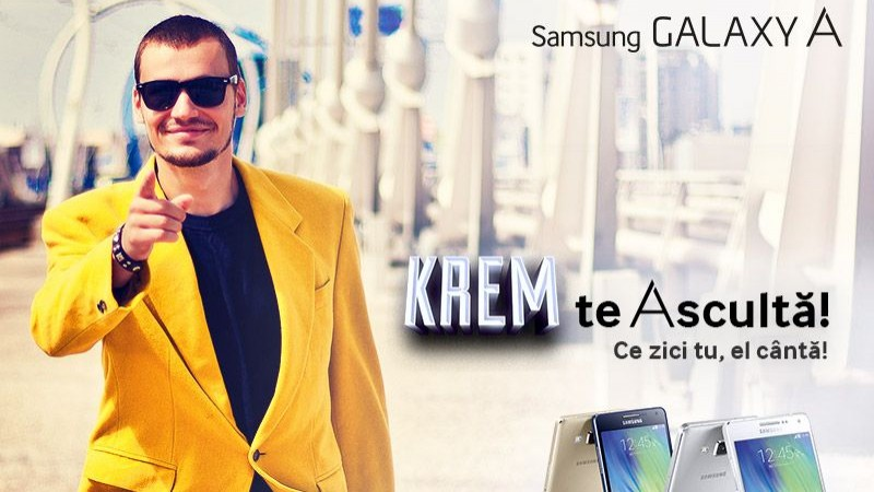Samsung Electronics Romania si KREM au lansat melodia Generatiei A