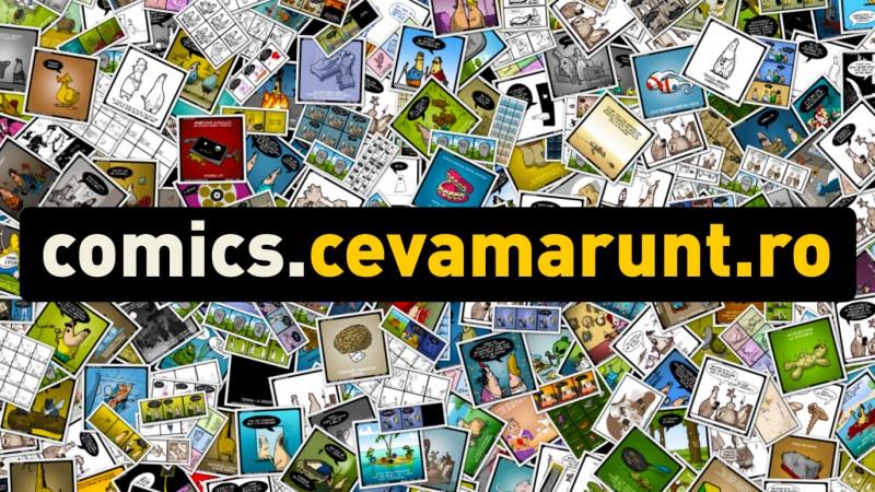 Lansare de banda desenata - comics.cevamarunt.ro volumul 3