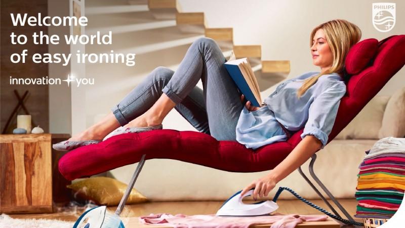 "Ogilvy & Mather si Philips semneaza campania ""Welcome to the World of Easy Ironing"" dezvoltata special pentru piata din Cehia"
