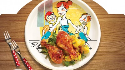 Agricola - produse din carne de pasare (sticker)