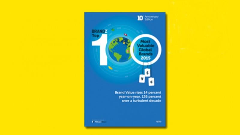 Apple preia conducerea clasamentului BrandZ al celor mai valoroase 100 branduri la nivel mondial, la cea de-a zecea editie a acestuia