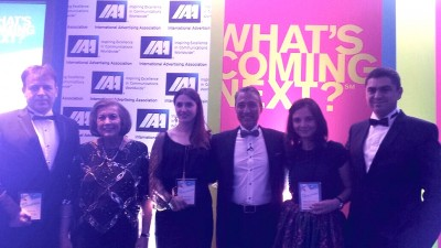 IAA Young Professionals Romania are doua premii la Gala IAA Inspire Awards de la Londra la categoria Young Leader
