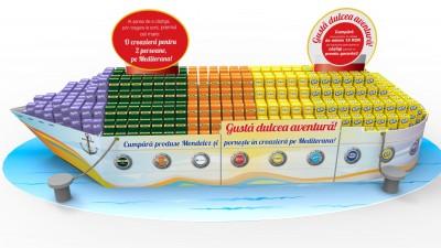 Mondelez - Executie speciala pentru Carrefour