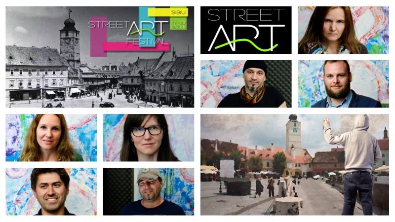 Sibiul n-are nevoie de o schimbare, doar de o completare. Si pe aceasta i-o aduce Street Art Festival Sibiu