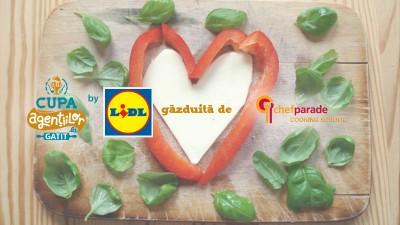 Chef Parade, gazda Cupei Agentiilor la Gatit by Lidl