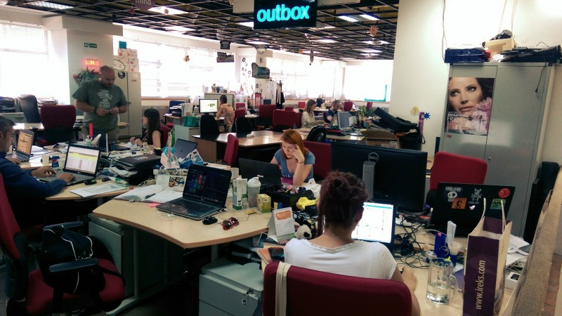 Inspectie la Outbox - The ginger digital agency