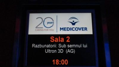 Medicover - Branding sali in Cinema City