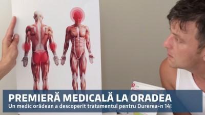 Durerea-n 14 si-a gasit remediul la Oradea