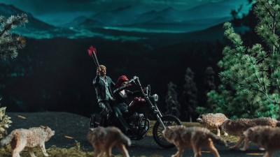 Tanar si nelinistit cu lupi