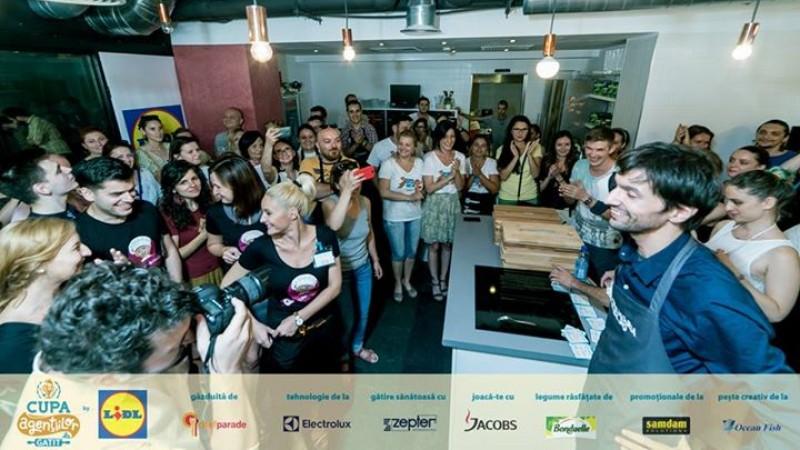 Cupa Agentiilor la Gatit by Lidl la final: 3 zile de sarbatoare in bucatarie, cu cei mai creativi 300 de romani