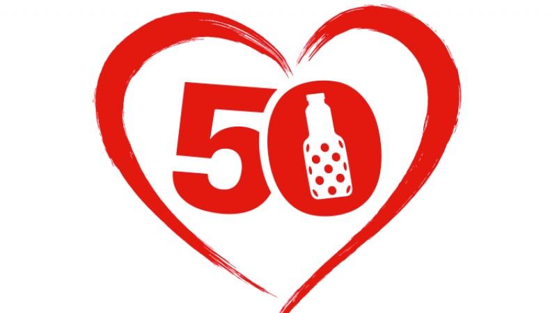 Granini sarbatoreste 50 de ani cu sute de povesti de iubire