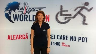 [Branduri care alearga] Andreea Mitrache (Red Bull): Alergarea a devenit un fenomen mondial, un trend legat de miscare si viata sanatoasa. Insa, in cazul Wings for Life World Run, alergam pentru cei care nu pot