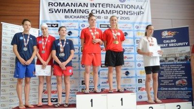 Mercedes-Benz Romania si Golin au sustinut #performanta la Campionatele Internationale de Inot