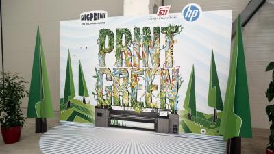 Tehnologia Latex - unda verde pentru printul sustenabil. Bigprint Romania investeste in Print Green