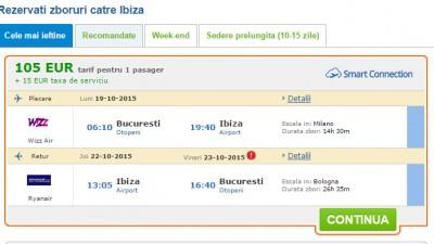 Bilete la jumatate de pret pentru 500 de rute aeriene printr-o inovatie tehnologica romaneasca