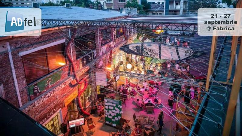 ADfel face zece ani: singurul eveniment de branded entertainment din Romania revine intre 21 si 27 septembrie, la Fabrica