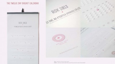 Breast Unit Prague - Clinic for breast diseases - Twelve day calendar