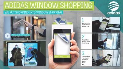 Adidas - Window shopping