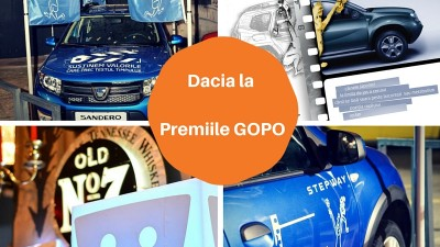 Dacia la Gala Premiilor Gopo