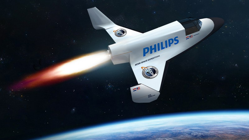 Castigatorul campaniei Philips S9000 are oportunitatea de a participa la o calatorie in spatiu in 2016