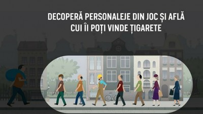 JTI, Campania anti-contrabanda cu tigarete - Joc Online