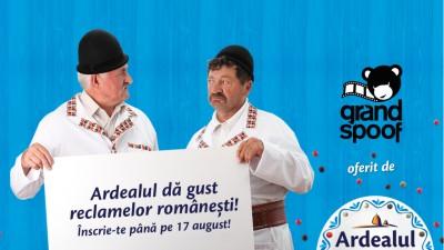 Da gust publicitatii romanesti! Inscrie-te in competitia Grand Spoof by Ardealul