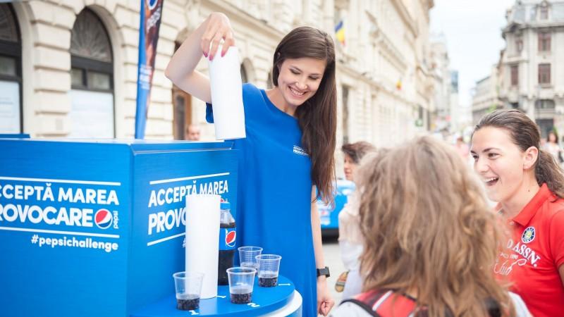 Peste 100.000 de romani au acceptat Marea Provocare Pepsi si au ales gustul de cola preferat