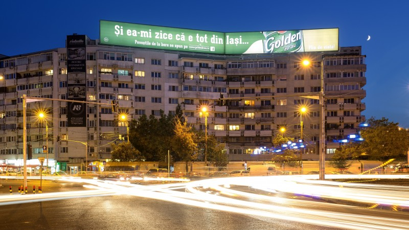 "WINK lanseaza The ROOFTOP, un proiect canditat pentru un record mondial la categoria ""largest illuminated advertising sign"""