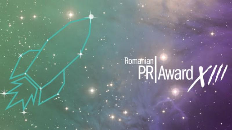 Cu privirea catre stele la cea de-a XIII-a editie Romanian PR Award