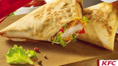 KFC lanseaza Duetos, wrapurile pe care sa le imparti doar cu tine