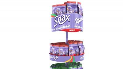Milka Snax - Simulare 3D Swirl