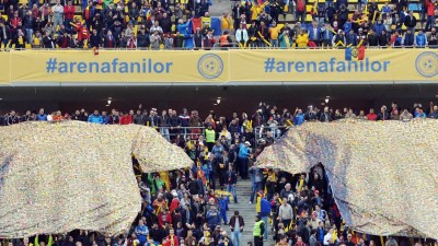 #ArenaFanilor, conceptul lansat de GMP Group la initiativa FRF, in contextul istoric al fotbalului romanesc
