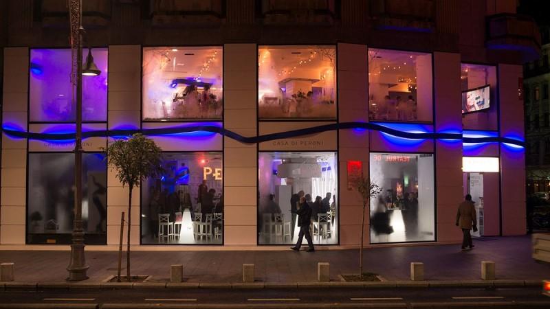 Peroni inaugureaza Casa di Peroni, spatiul dedicat initiativelor artistice inspirate de simbolurile stilului italian