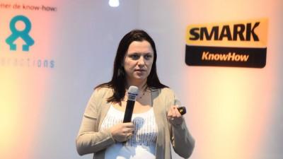 [SMARK KnowHow: Target BootCamp] Arina Ureche (BRAT): In medie, un barbat utilizeaza 1.9 device-uri pentru a se conecta la internet, iar femeile folosesc 1.7 dispozitive